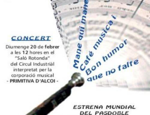"""Concierto de Música Festera """"Penya Bon Humor 2011"""". ALCOI"""
