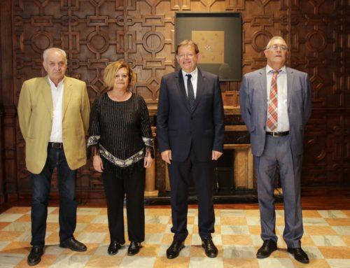 Reunión Presidente de la Generalitat Ximo Puig y la Presidenta de la UNDEF Pepa Prats