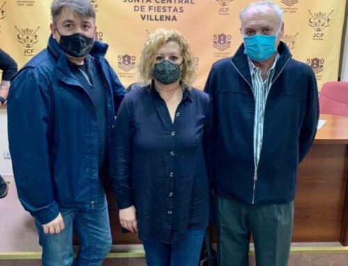 Reuniones de artesanos festeros de Elda, Petrel, Alcoy y Villena, JCF y UNDEF
